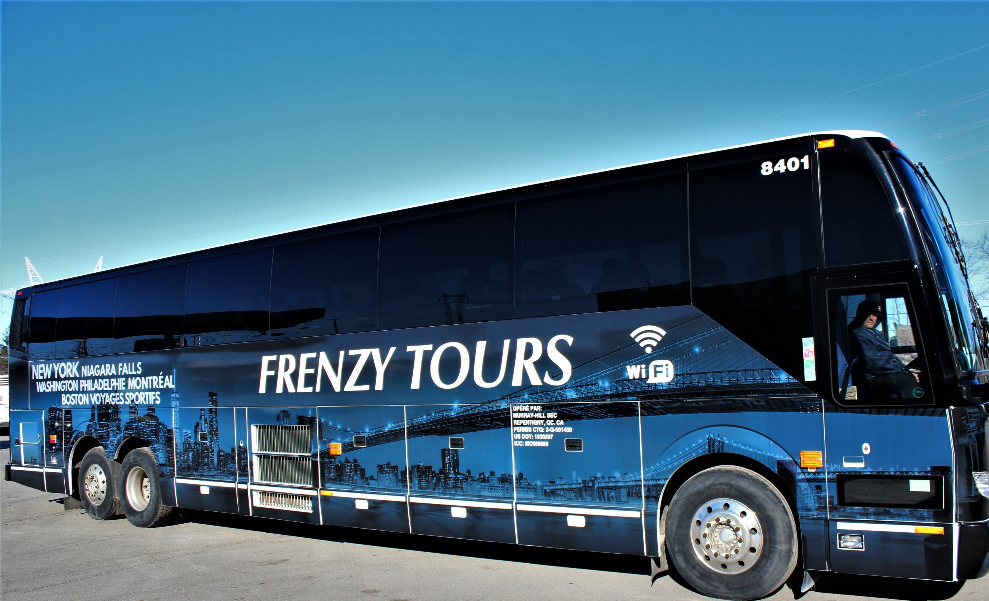 Our New bus! | Frenzy Tours
